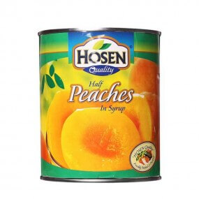 Hosen Quality Half Peaches In Syrup