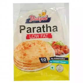 Jhatpot Paratha Low Fat 10 pcs