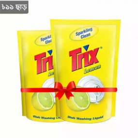 Trix Dish Washing Liquid Refill 250ml x 2pcs